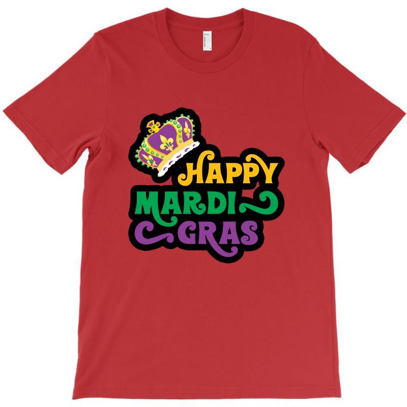 Happy Mardi Gras For Light T-shirt | Artistshot