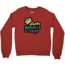happy mardi gras for light Crewneck Sweatshirt | Artistshot