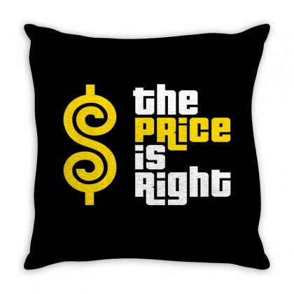 Price Is Right Throw Pillow Designed By Luisother