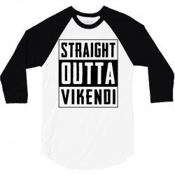 straight outta vikendi 3/4 Sleeve Shirt   Artistshot