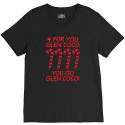 for you go glenn coco V-Neck Tee   Artistshot