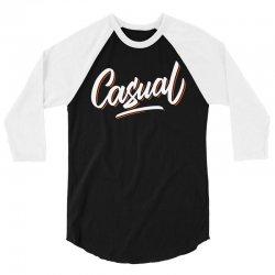 casual 3/4 Sleeve Shirt   Artistshot