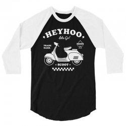 lets scoot 3/4 Sleeve Shirt | Artistshot
