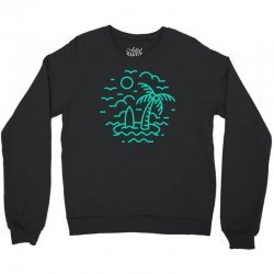 mini island Crewneck Sweatshirt | Artistshot