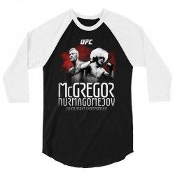mcgregor vs nurmagomedov (ufc) 3/4 Sleeve Shirt | Artistshot
