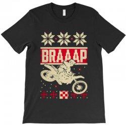 motocross ugly christmas T-Shirt | Artistshot