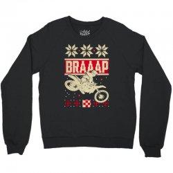 motocross ugly christmas Crewneck Sweatshirt | Artistshot