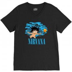 nirvana V-Neck Tee   Artistshot