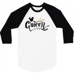 queen mouse for light 3/4 Sleeve Shirt | Artistshot