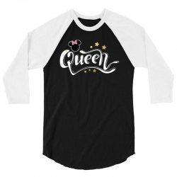 queen mouse for dark 3/4 Sleeve Shirt | Artistshot