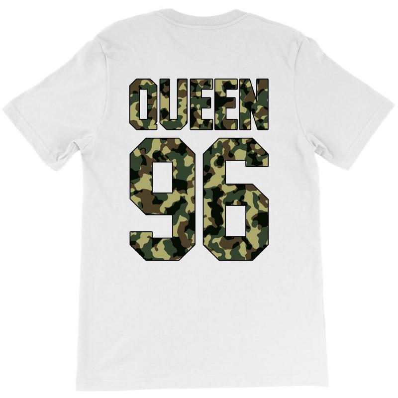 Queen Camouflage T-shirt   Artistshot