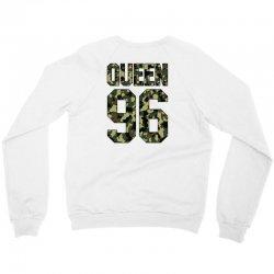 queen camouflage Crewneck Sweatshirt   Artistshot