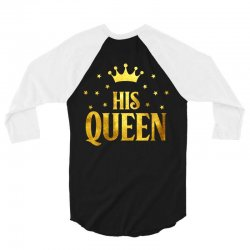 his king 3/4 Sleeve Shirt | Artistshot