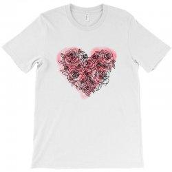 heart rose for light T-Shirt | Artistshot