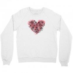 heart rose for light Crewneck Sweatshirt | Artistshot