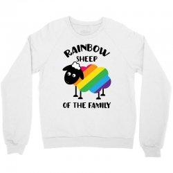 rainbow sheep of the family Crewneck Sweatshirt | Artistshot