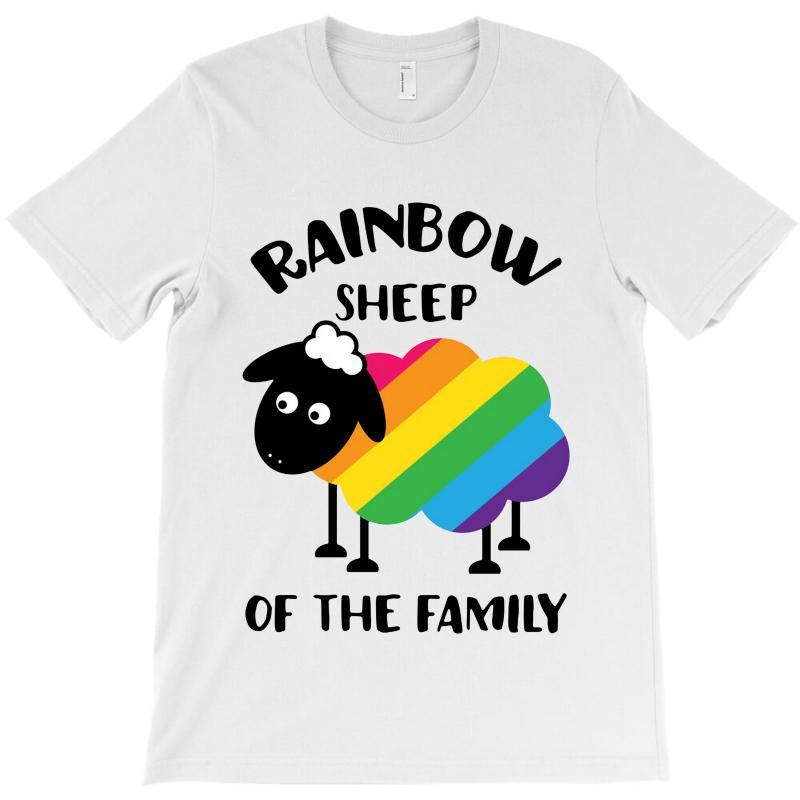 Rainbow Sheep Of The Family T-shirt | Artistshot