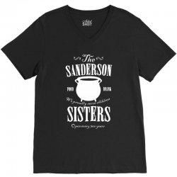 sanderson sisters V-Neck Tee | Artistshot