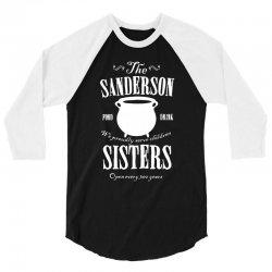 sanderson sisters 3/4 Sleeve Shirt | Artistshot