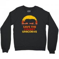 save the chubby unicorns Crewneck Sweatshirt | Artistshot