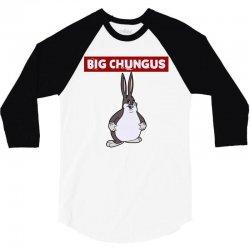 big chungus 3/4 Sleeve Shirt | Artistshot