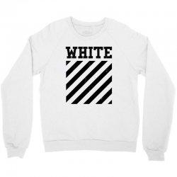 white Crewneck Sweatshirt   Artistshot