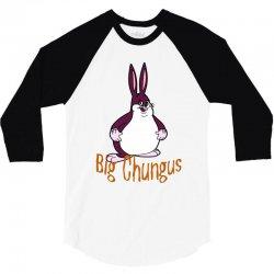 cool big chungus 3/4 Sleeve Shirt | Artistshot