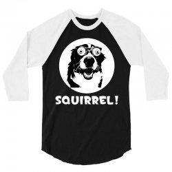 Squirrel Dog 3/4 Sleeve Shirt | Artistshot
