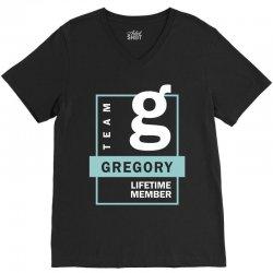 Team Gregory Lifetime Member V-Neck Tee | Artistshot