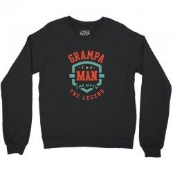 Grampa Crewneck Sweatshirt   Artistshot