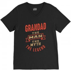Grandad V-Neck Tee   Artistshot