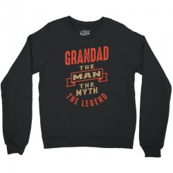 Grandad Crewneck Sweatshirt   Artistshot