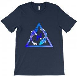 pisces watercolor T-Shirt | Artistshot