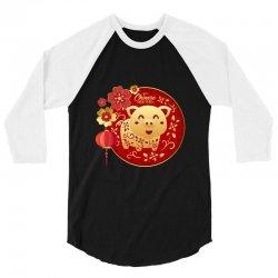 happy chinese new year 3/4 Sleeve Shirt | Artistshot