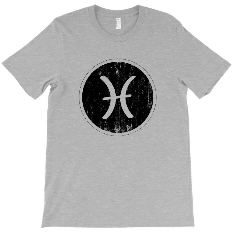 Pisces Zodiac Symbol T-shirt | Artistshot