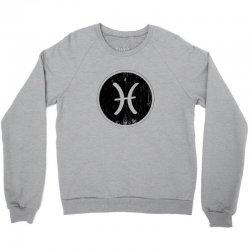 pisces zodiac symbol Crewneck Sweatshirt | Artistshot