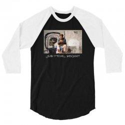 jean michel basquiat for dark 3/4 Sleeve Shirt   Artistshot