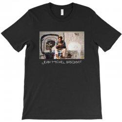 jean michel basquiat for dark T-Shirt   Artistshot
