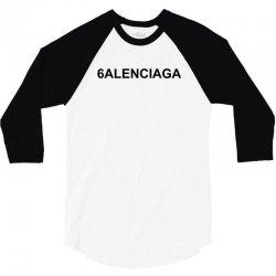 6alenciaga for light 3/4 Sleeve Shirt   Artistshot