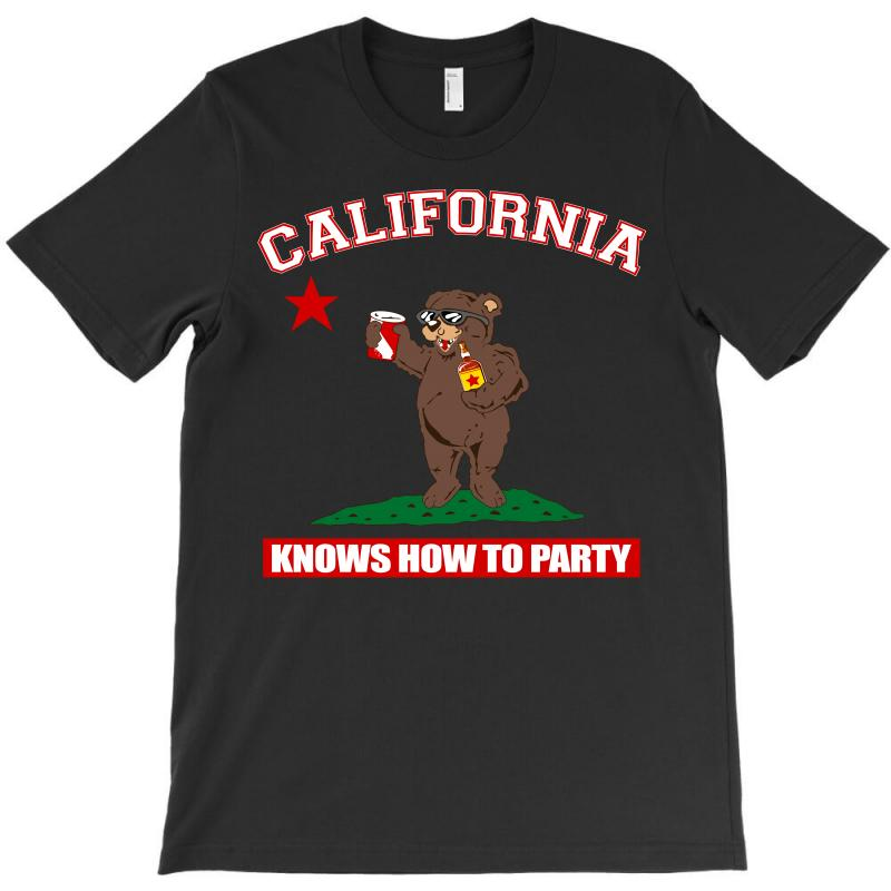 California Knows How To Party T-shirt | Artistshot