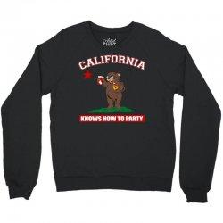 California Knows How to Party Crewneck Sweatshirt | Artistshot