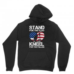 stand for the flag kneel for the fallen Unisex Hoodie | Artistshot