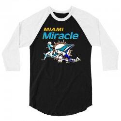 miami miracle 3/4 Sleeve Shirt   Artistshot