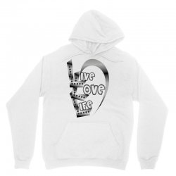 live love life Unisex Hoodie | Artistshot