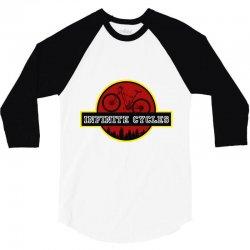 infinite cycles 3/4 Sleeve Shirt | Artistshot