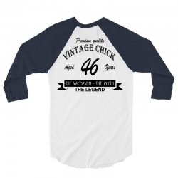 wintage chick 46 3/4 Sleeve Shirt | Artistshot
