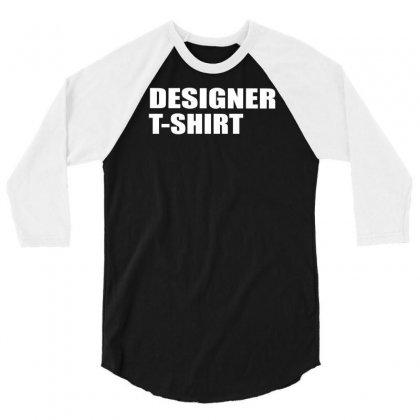 Designer 3/4 Sleeve Shirt Designed By Lub1s