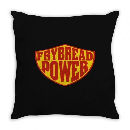 Frybread Power Throw Pillow Designed By Motleymind