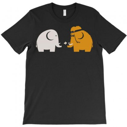Mammoths Were Hippies T-shirt Designed By Setia15ginting
