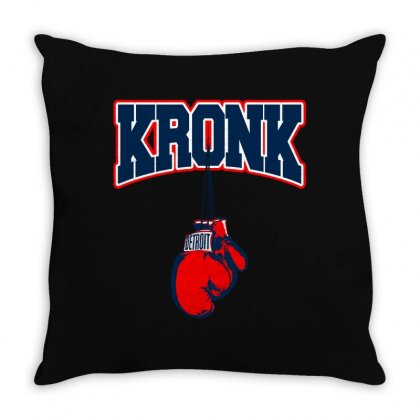 Kronk Gym Throw Pillow Designed By Parashiel